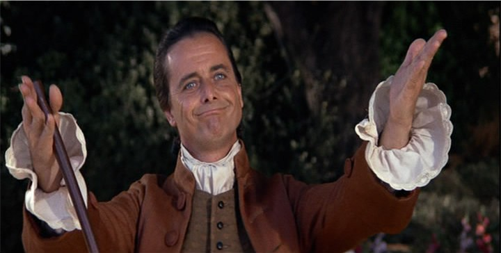 William Daniels as John Adams